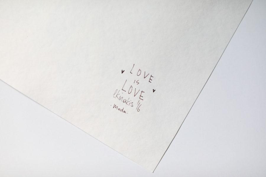 love is love signature